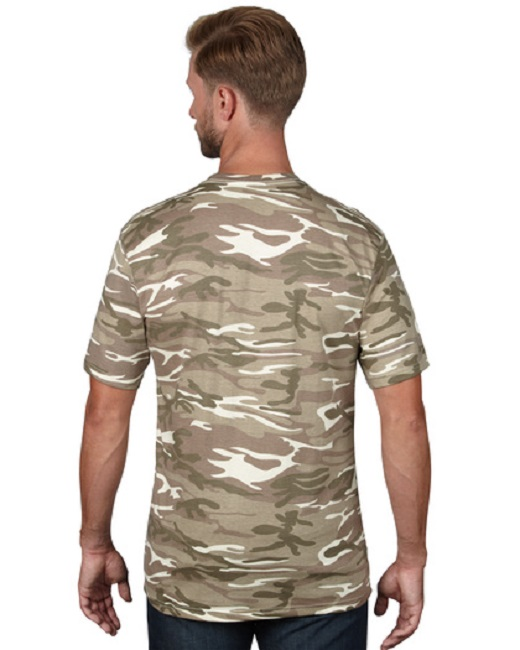 CAMISETA ANVIL CAMUFLAJE HEAVYW 170G MC