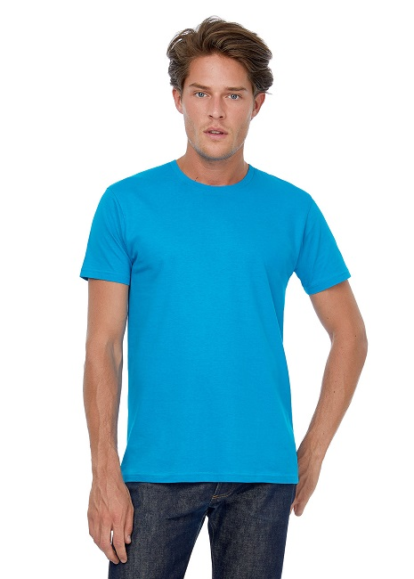 CAMISETA B&C #E150 UNISEX COTTON MC BLA