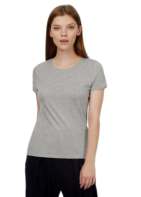 CAMISETA B&C #E150 WOMEN COTTON MC BLA