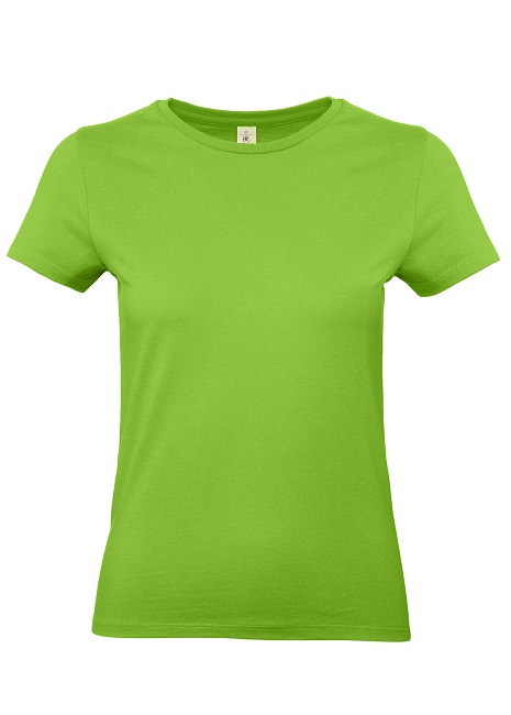CAMISETA B&C #E190 WOMEN COTTON MC BLA