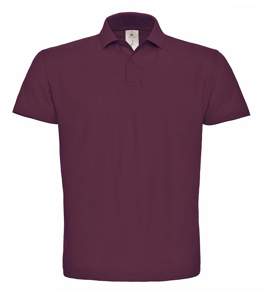 POLO B&C ID.001 COTTON 180G M.CORTA