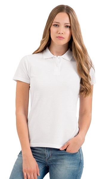 POLO SRA B&C ID.001 WOMEN COTTON 180G MC