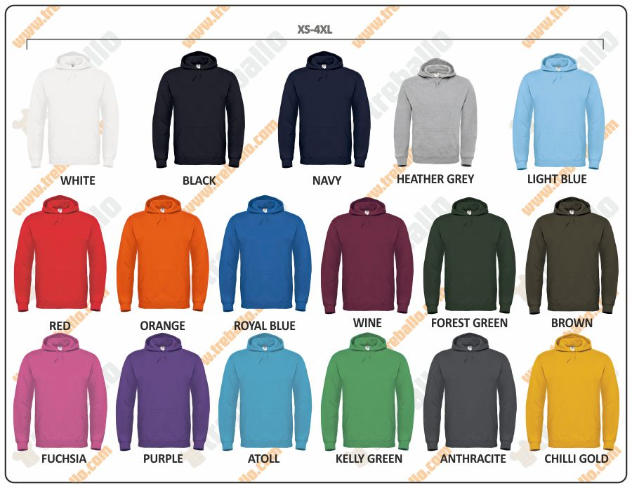 Colores disponibles del ProductoBCID003