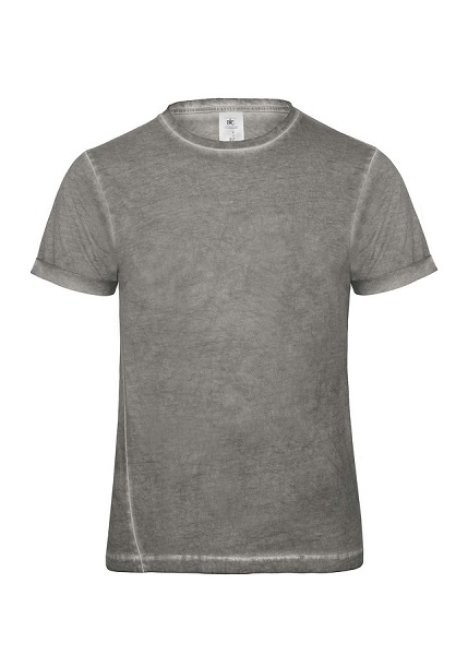 CAMISETA B&C PLUG IN MEN SLIM VINTAGE MC