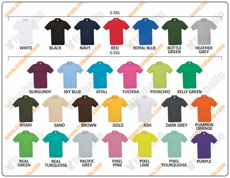 Colores disponibles del ProductoBCSAFRAN