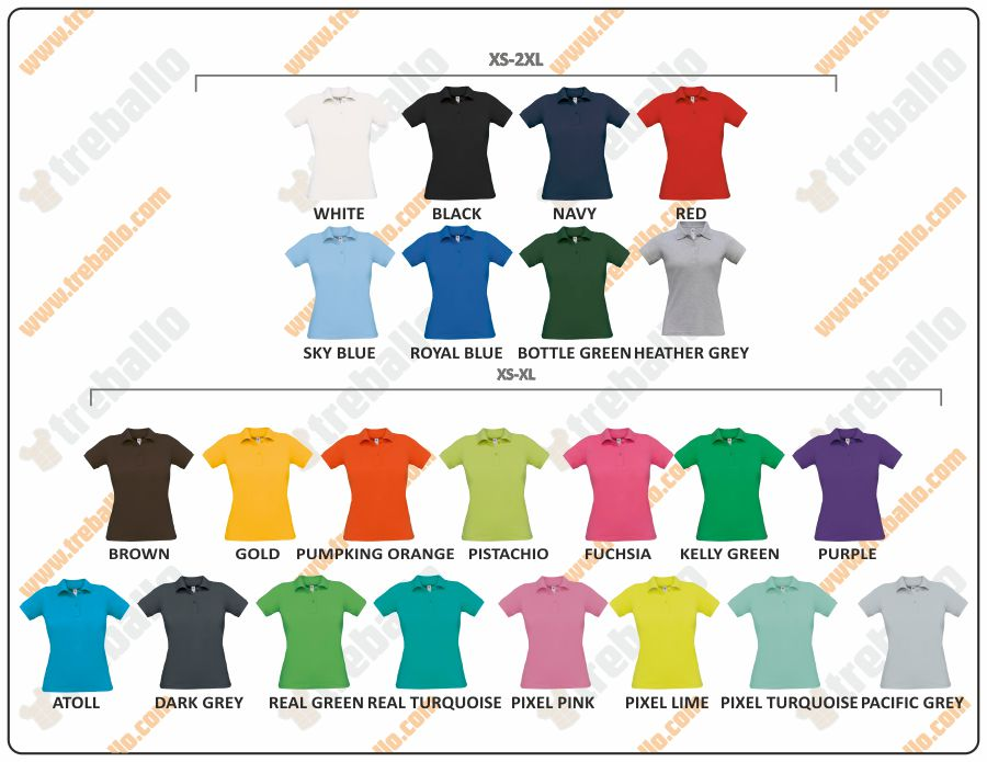 Colores disponibles del ProductoBCSAFRANW