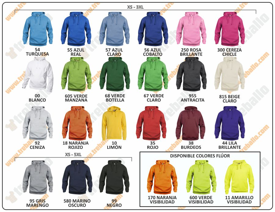 Colores disponibles del ProductoCQ021031