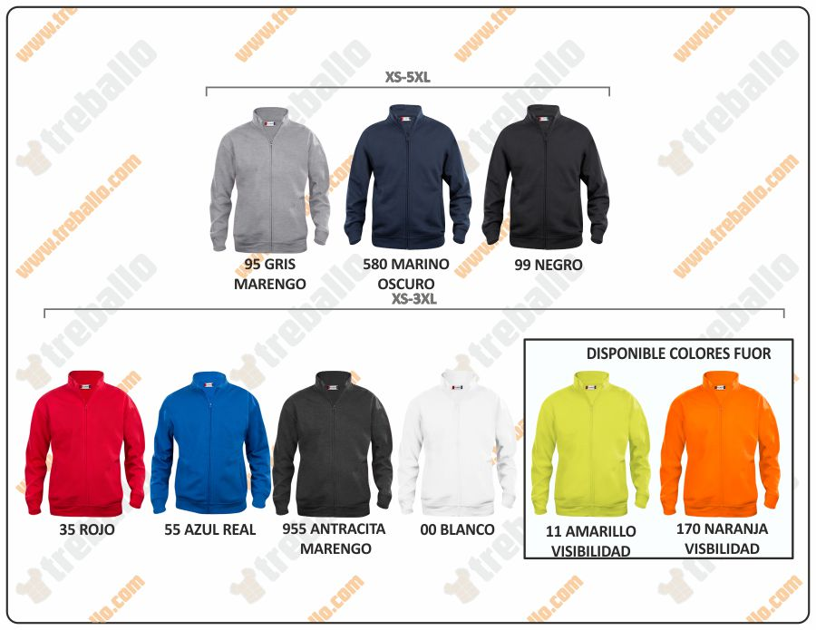 Colores disponibles del ProductoCQ021038