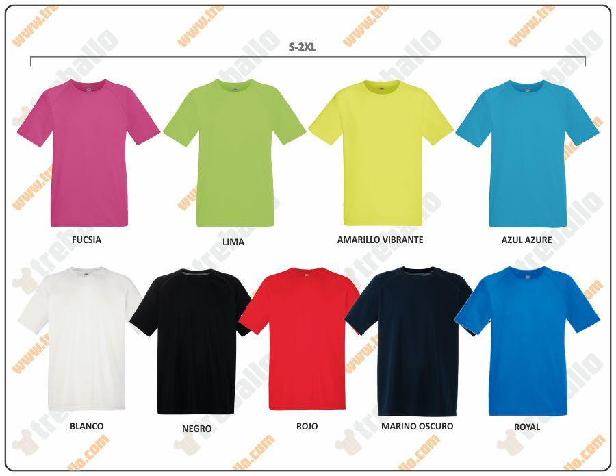 Colores disponibles del ProductoFU61-390