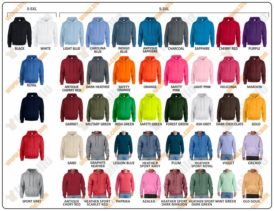 Colores disponibles del ProductoGD18500