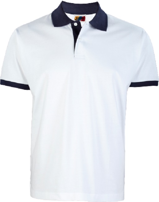 POLO ALMERIA COTTON PUNTO LISO COMBI MC