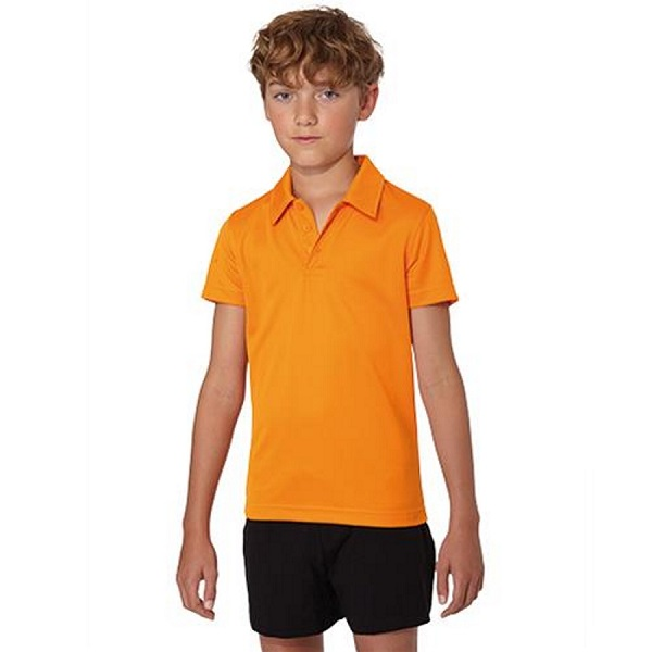 POLO TECNICO NIÑO PA484 145G COOL MC