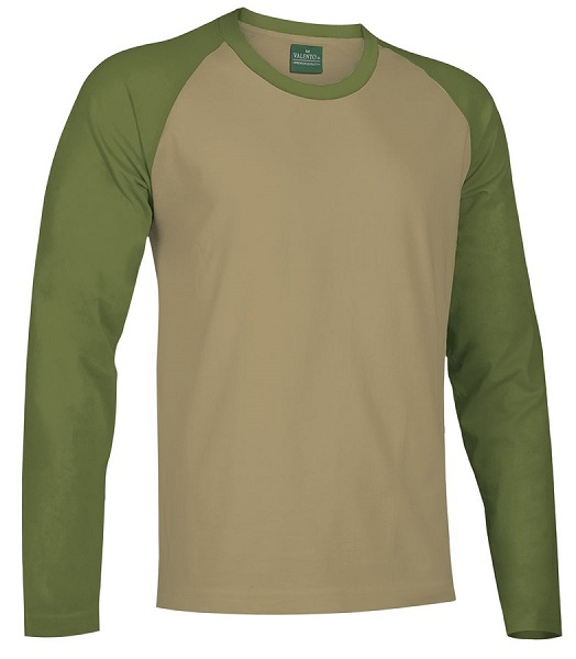 CAMISETA BREAK 185GR BASEBALL M.LARGA