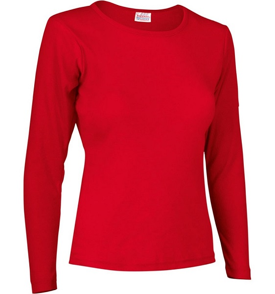 CAMISETA SRA CINDY C.RED CANALE 200G M/L