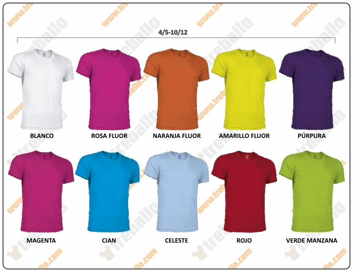 Colores disponibles del ProductoRGCRESISTANCEK