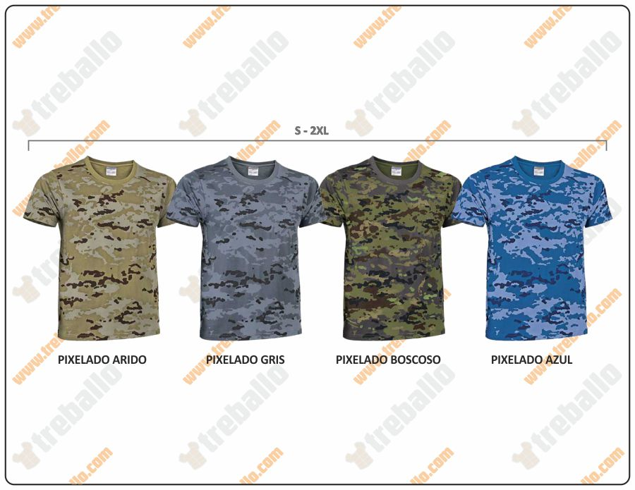 Colores disponibles del ProductoRGCSOLDIER
