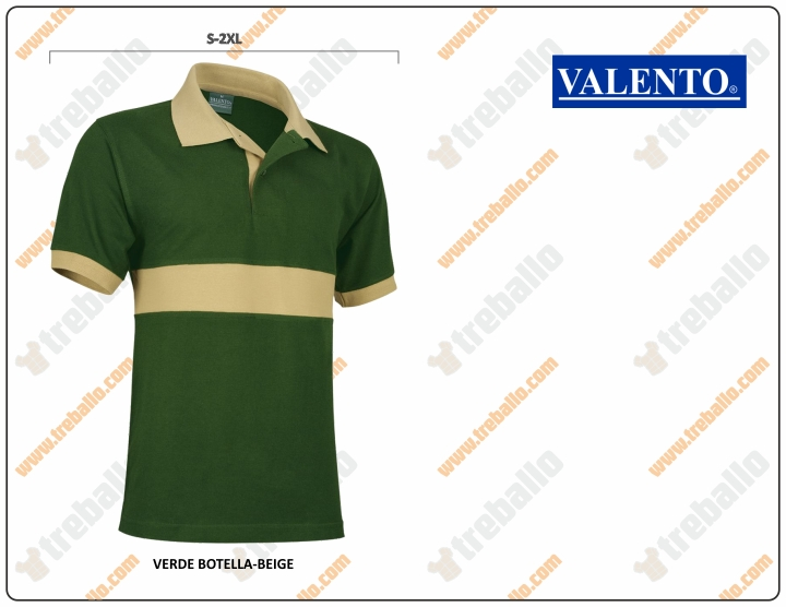 POLO VALENTO COMMAND COMBI COTTON MC