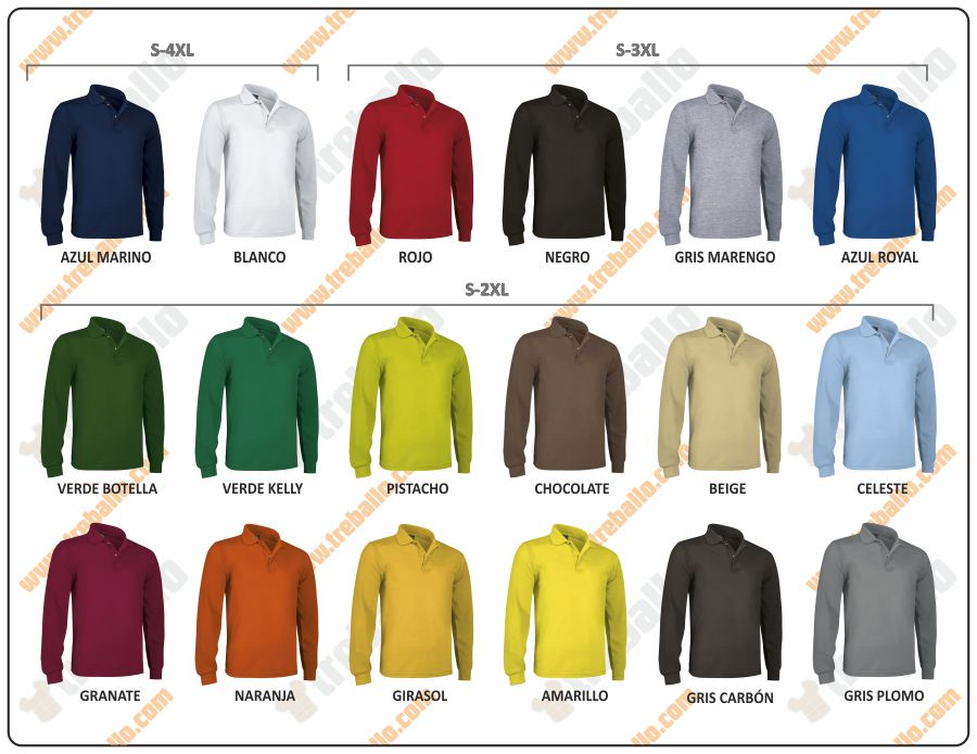 Colores disponibles del ProductoRGPPREDATOR