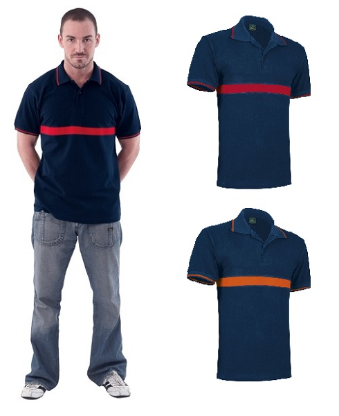 POLO VALENTO SERVER COMBI COTTON 220G MC